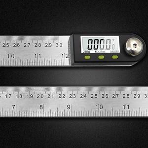 """Image 2 - 300 Mm 12 """"Digitale Hoek Heerser Finder Meter Gradenboog Inclinometer Goniometer Elektronische Hoek Gauge Roestvrij Staal"""