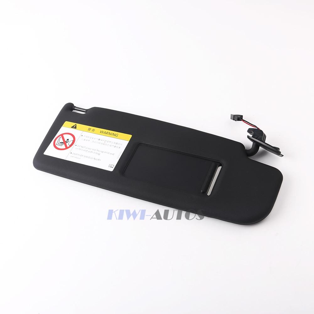 OEM Sun Visor Right Side Black Fit VW PASSAT B7 CC JETTA MK5 1K0 857552A 1K0