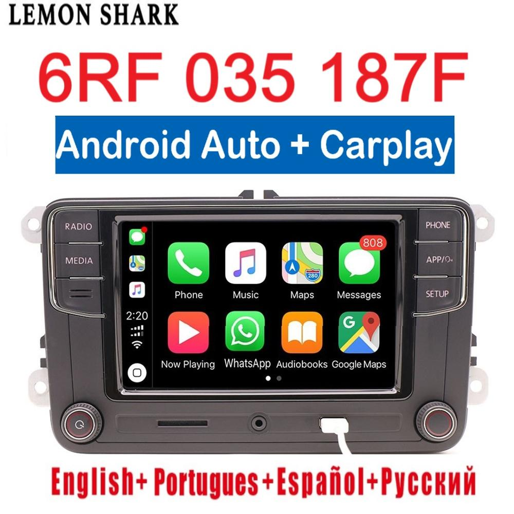 RCD330 Plus Android Auto Carplay RCD330G Carplay 6RF 035 187F R340G RCD 330G For VW Tiguan Golf 5 6 MK5 MK6 Passat Polo 6RF 035