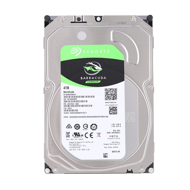 Seagate 4TB Desktop HDD Internal Hard Disk Drive 5900 RPM SATA 6Gb/s 256MB Cache 3.5inch HDD Drive Disk For Computer ST4000DM004