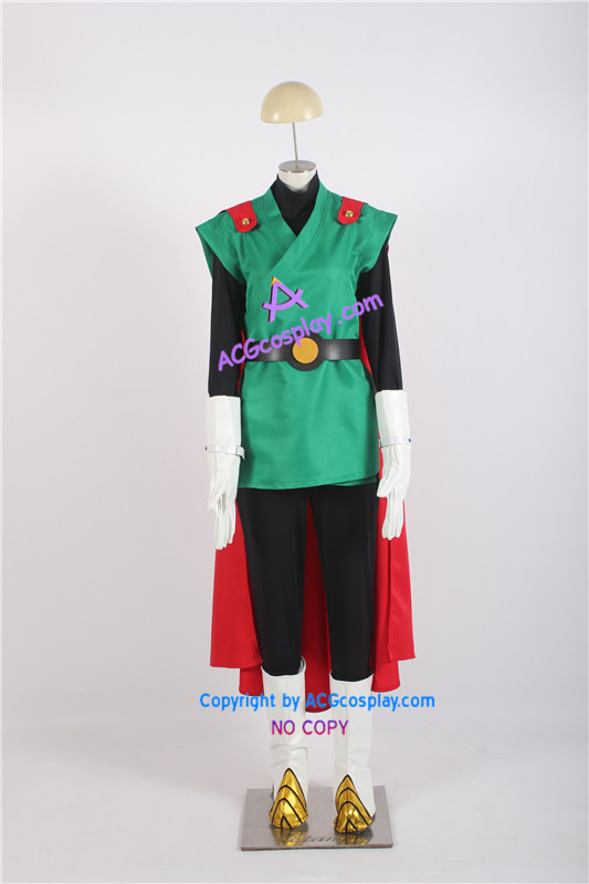 Dragon Ball Z The Great Saiyaman Cosplay Costume