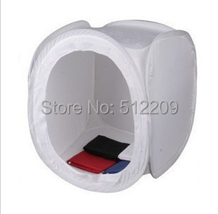 90cm*90cm High Quality Photo Studio Tent Cube Light Sheds, Including One Tent + Four Backdrops + One Carry Bag
