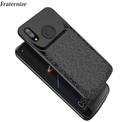 Silm Shockproof battery charger case For Xiaomi Redmi Note 7 charger Cover Backup power bank battery power pack Redmi Note 7 Pro