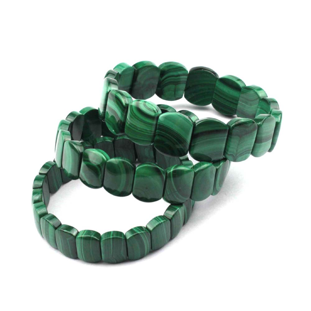 Natural malachite stone beads braclet natural GEM stone bracelet for woman for gift free shipping wholesale ! ...