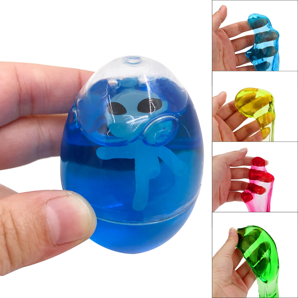 Chamsgend Toy Plasticine Novel Shining Crysta Jelly Slime Toy Soft Scented Stress Relief Sludge Plasticine Toys Ap9 A Great Variety Of Models Modeling Clay Learning & Education
