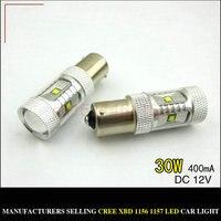 Free Shipping 2pc Lot Car Styling LED Lights Hi Q Daytime Running Light Without Cornering Light