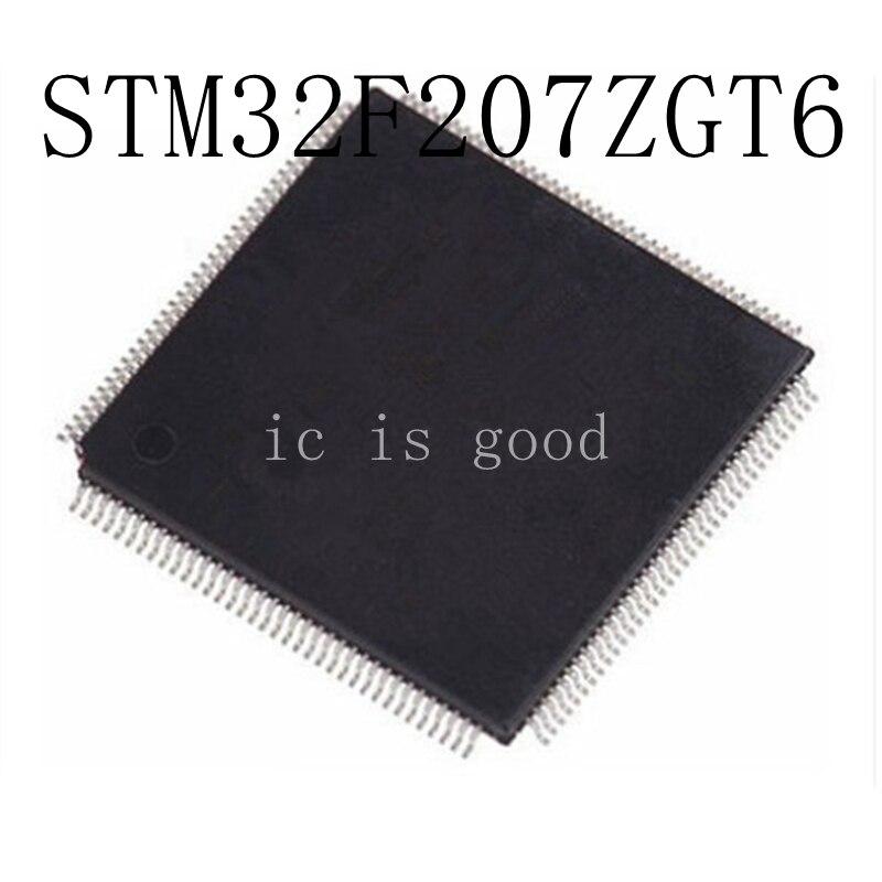 2PCS STM32F207ZGT STM32F207ZGT6 QFP 144 New original