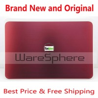 New 15.6 LCD Back Cover Rear W/wireless antenna wires, LVDS Cable for Dell Inspiron 15 3521 5521 NV9JC 0NV9JC AP0U5000120 Red