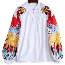 Retro Spring Embroidery Fashion