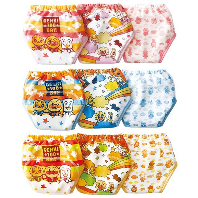 3 Pcs/lot Hot Baby Training Pants With Boys & Girls For 0-24 Months Babay 100% Cotton Soft Fashion TRX0005