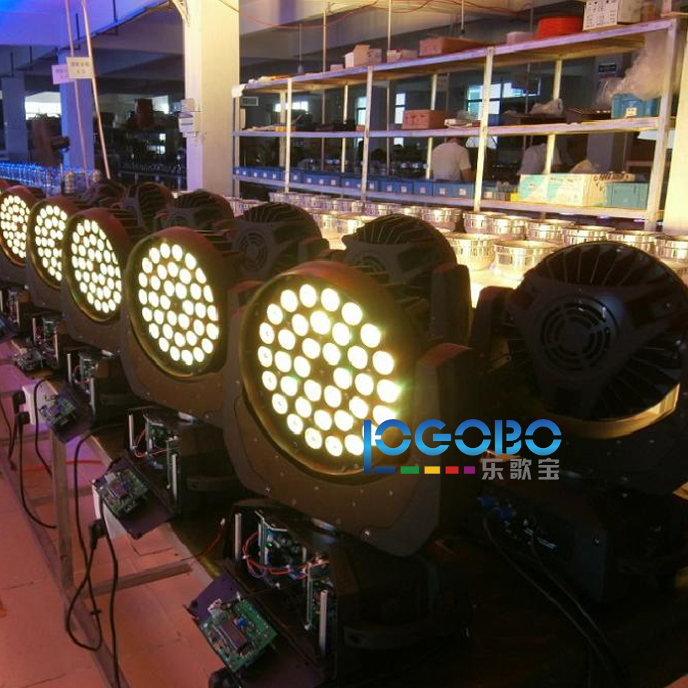 4 x Factory Price DJ Moving Heads 36x10W RGBW 4 in1 Zoom LED Wash Light Stage Night Club Disco Bar Uplighting Fast Free Shipping
