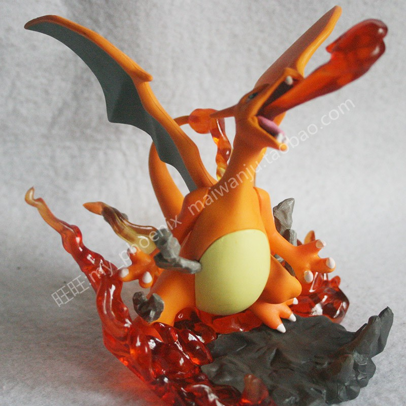 15cm Large Size Charizard Figures Pokemon Pikachu Series Action Figure Doll Toys for Children with Box Birthday Gift image