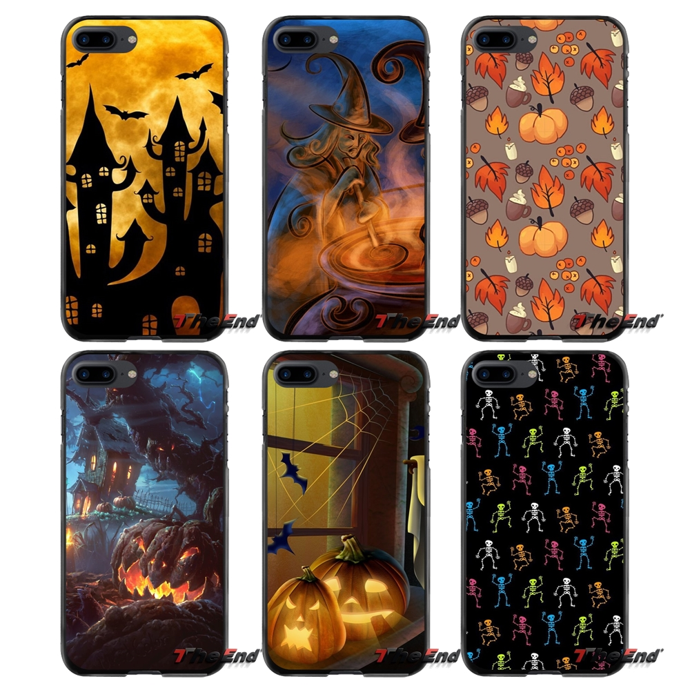 For Apple iPhone 4 4S 5 5S 5C SE 6 6S 7 8 Plus X iPod Touch 4 5 6 Accessories Phone Shell Covers Halloween
