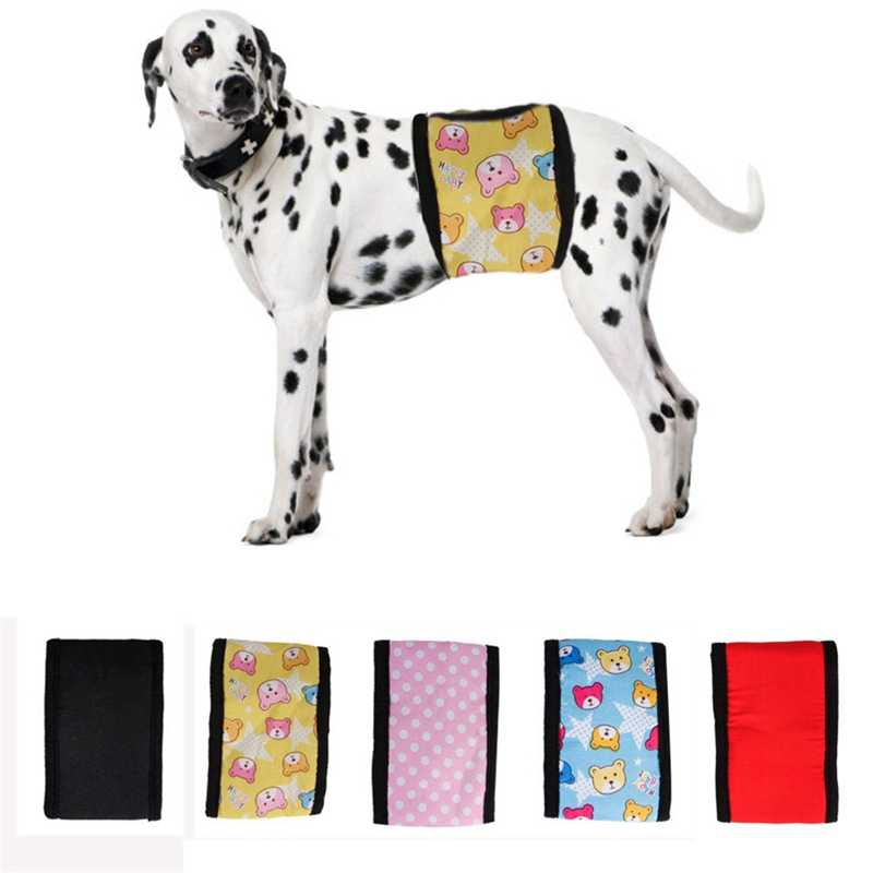Pet Dog Diaper Physical Pants Cotton Reusable Belly Bands Sanitary Towel Hygienic Underwear Pants Nappies Wrap Pet Supplies