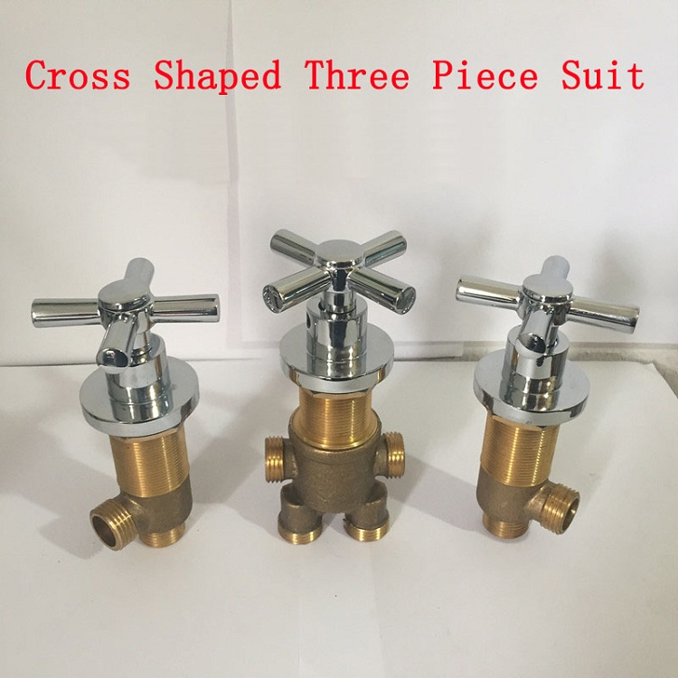 Cross Shaped Cold And Hot Water Master Switch/separator