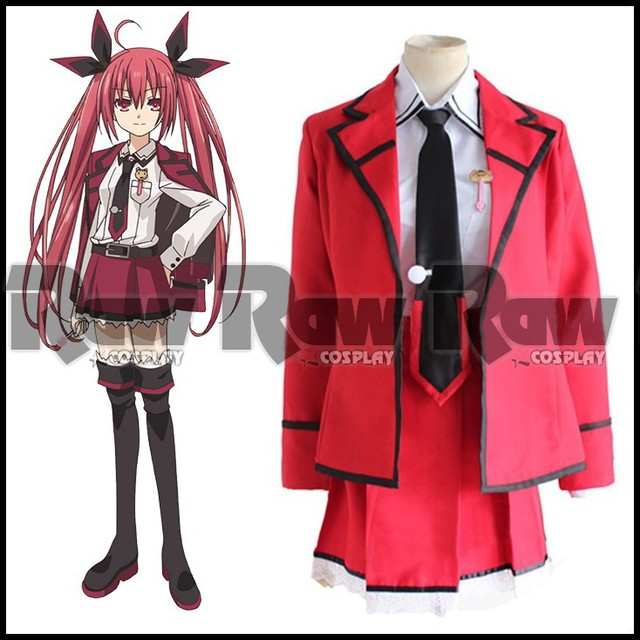 Anime Character Cosplay Costume Cartoon DATE A LIVE High Quality Itsuka Kotori School Uniform For Women