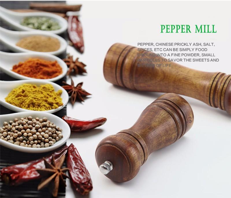 wooden spice grinder