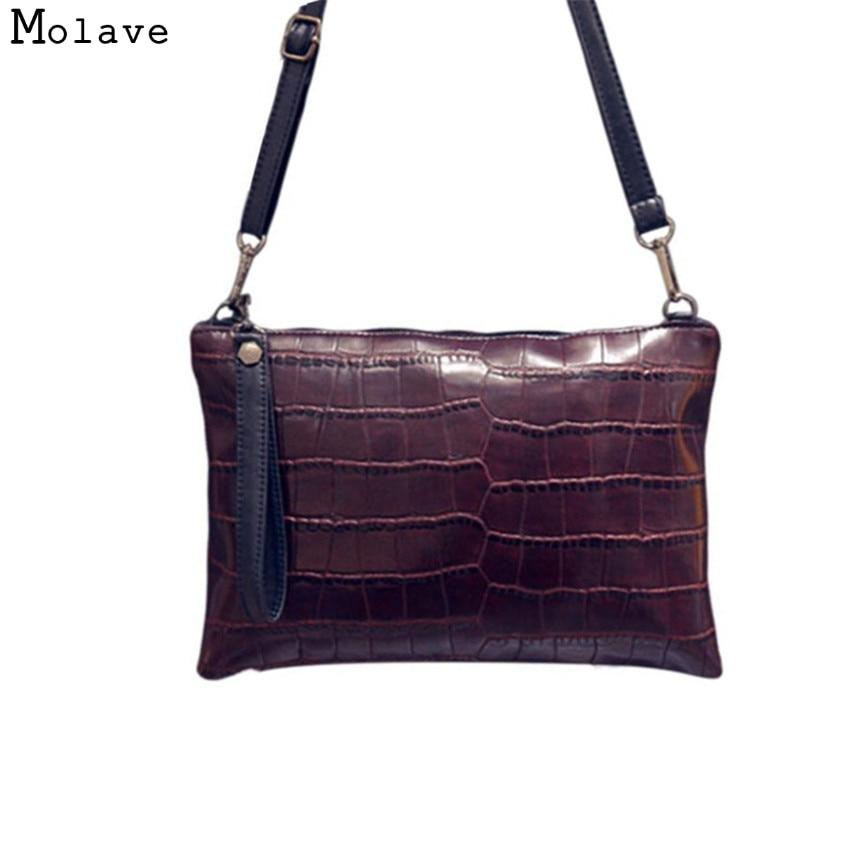 Naivety New Fashion Women Alligator PU Leather Handbag Zipper CrossBody Shoulder Messenger Bag Portable Bolso 11S601003