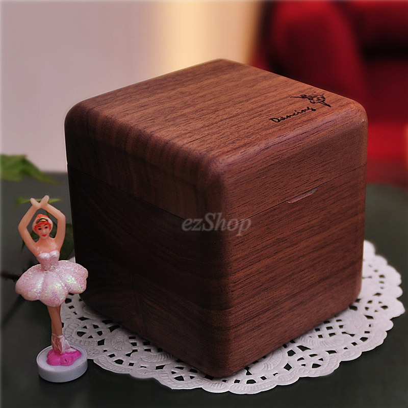 Excellent Quality Wooden Musical Ballerina Jewelry Box Wooden Craft