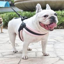 Dog Harness Pet Hot Sale Reflective Rope Nylon Handle Adjustable  Collar K9 Padded Medium Small Vest Harnesses Dogs Supplies