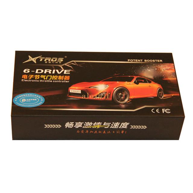 TS-980 TROS Booster Potente II 6 Drive Controller Electrónico Del Acelerador para Audi A6 (LHD) 2005-2007 y A6 (RHD) 2005-2010