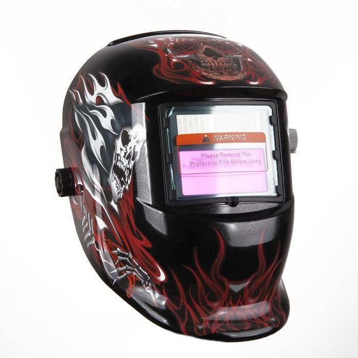 THGS Obscur-Variable Mop Welder Mask with Auto-Darkening LCD Filter for ARC TIG MIG Welder