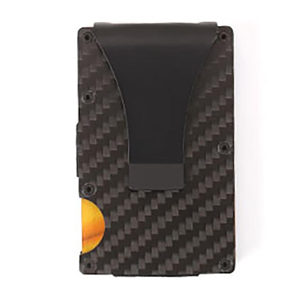 Wallet Business-Card Card-Box Carbon-Fiber Metal Fashion Ultra-Thin -D High-Quality