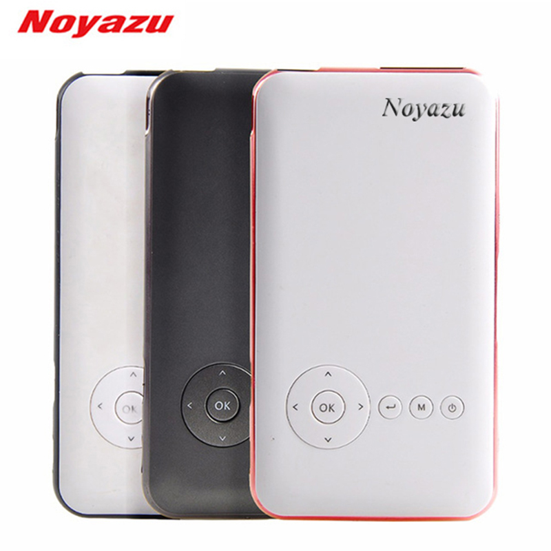 NOYAZU D05M6s 32GB Smart Portable DLP Projector Android HDMI IN Mini WiFi Full HD 1080P LED Projector for Phone Home Theater