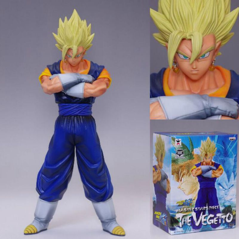 19CM Dragon Ball Z Vegetto PVC Figure Dragon Ball Vegetto Action Figure Toy Model DBZ MSP Figure Esferas Del Dragon Kids Toy dragon ball z action figure broli super saiyan pvc model toy broly esferas del dragon dbz figuras db11