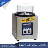 KT 205 800g 110V/220V Powerful Magnetic Tumbler Electric Polishing Machine Grinding Machine for Metal Jewelry Folisher