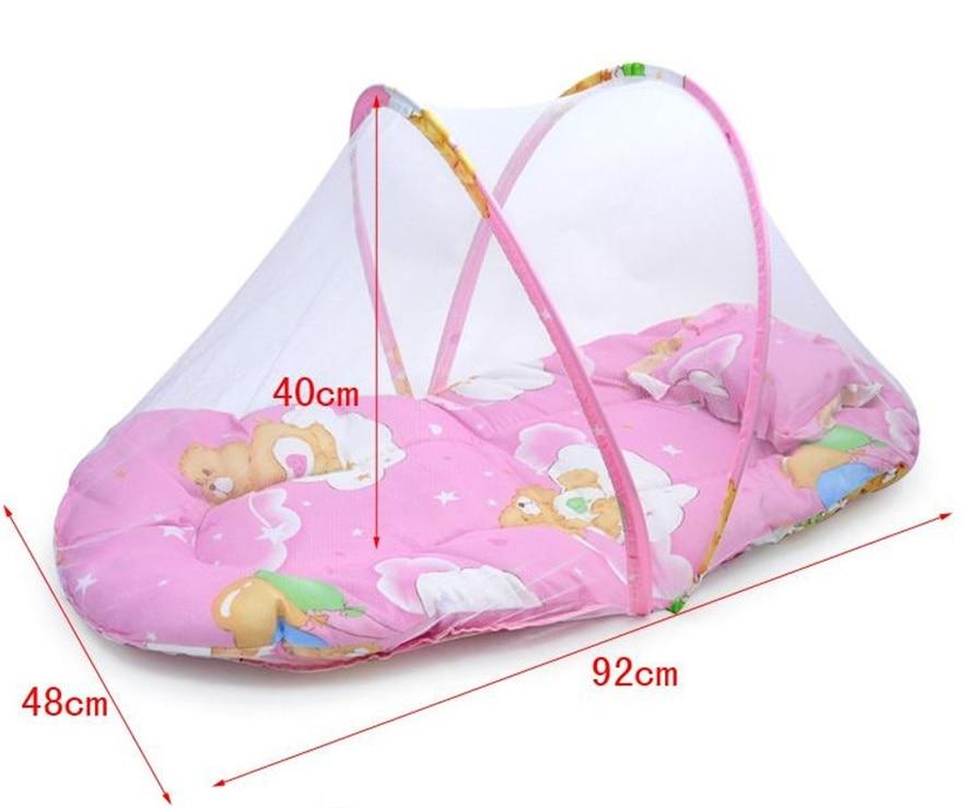 Zanzariera Letto Cotone : Cotone pieghevole culle per bambini anni camera da letto