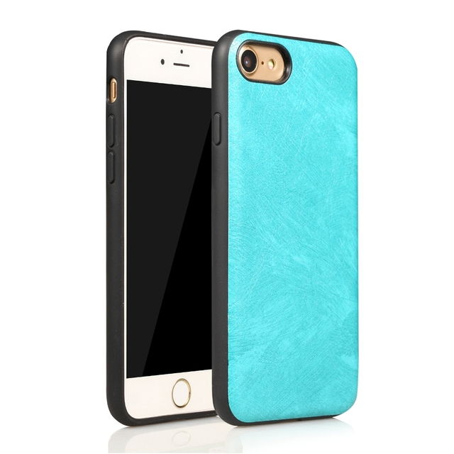 wholesale dealer 2ffb7 1e83a US $1.99 |Maze Phone Case For iPhone 7 4.7 inches Plain Blue Rose gold  Black Simple Mobile Phone Cover-in Half-wrapped Case from Cellphones & ...