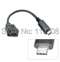 20pcs Lots USB 3 0 3 1 Type C Type C Male Connector To Mini USB
