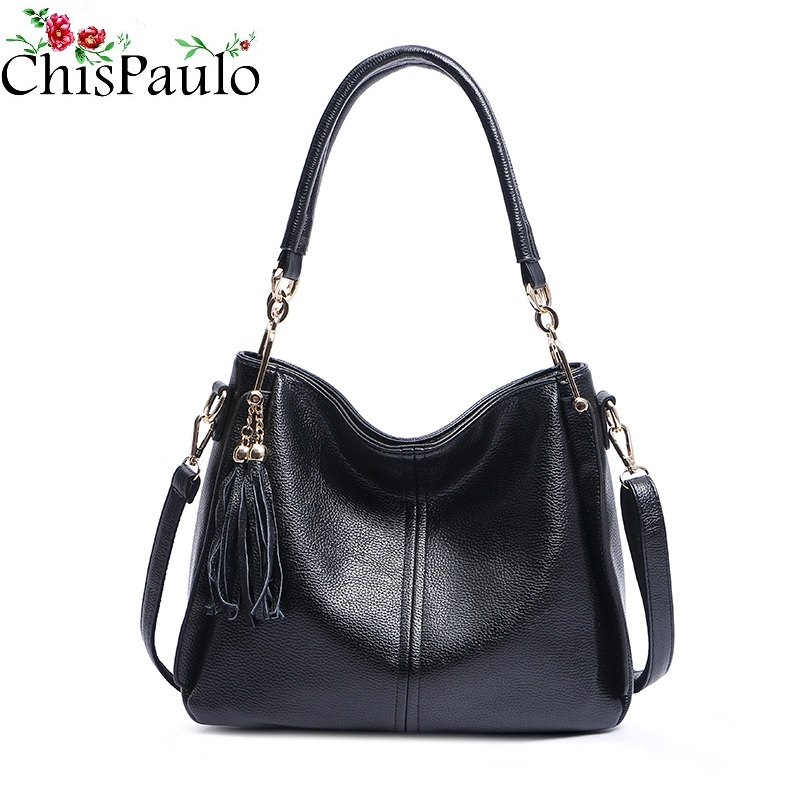 CHISPAULO Luxury Famous Brand Women Bags Designer Genuine Leather Handbags Casual Women's Shoulder Messenger Crossbody Bags X73 chispaulo women bags brand 2017 designer handbags high quality cowhide women s genuine leather handbags women messenger bag t235