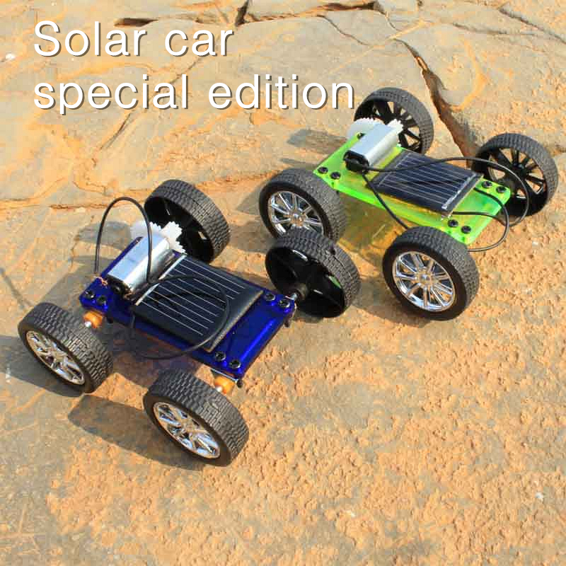 Solar car special edition diy car educational toys cars for Mitsuba motor solar car