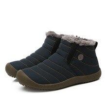 Для женщин Сапоги и ботинки для девочек зимняя обувь водонепроницаемые полусапожки Снегоступы теплые ботинки на меху Утепленная одежда мать модная женская обувь