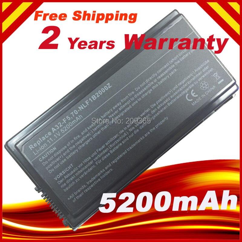 Batterie D'ordinateur Portable De remplacement pour Asus 90-NLF1B2000Y F5Sr F5V F5VI F5VL F5Z X50 X50C X50M X50N X50R X50RL X50SL X50V X50VL