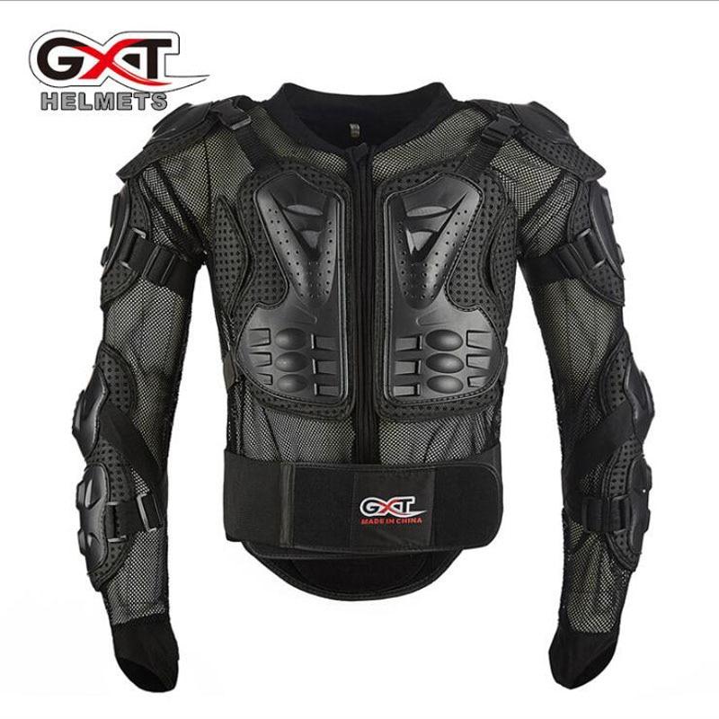 2018 nouveau GXT Moto armure Motocross équitation armures équipement de protection Moto course chevalier protection en PP taille libre