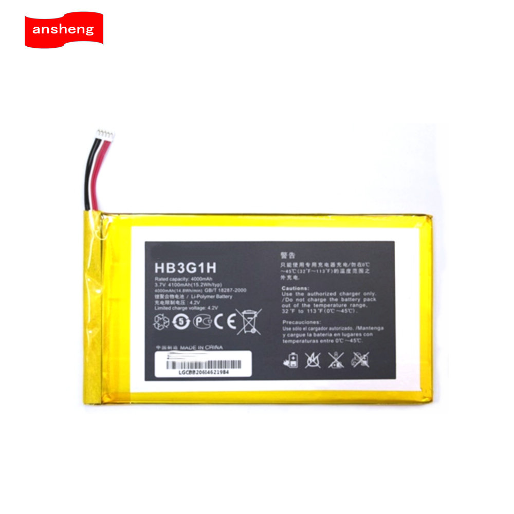 Tablet HB3G1/HB3G1H Huawei 4100mah Battery For Mediapad 7-S7-301w PC S7-931 High-Quality