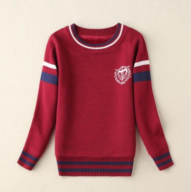 11.11 Nova Alta Quilty Blusas infantis Roupas Roupa Do Natal do Menino O-pescoço Camisola das Crianças Caber 2-9Y AS-1504-1