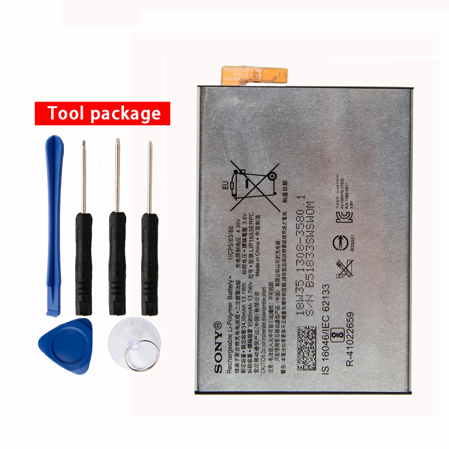 Original Sony LIP1653ERPC Ultra <font><b>Battery</b></font> for Sony <font><b>Xperia</b></font> XA2 Ultra G3421 G3412 3430mAh <font><b>XA1</b></font> Plus Dual H4213 3430mAh image