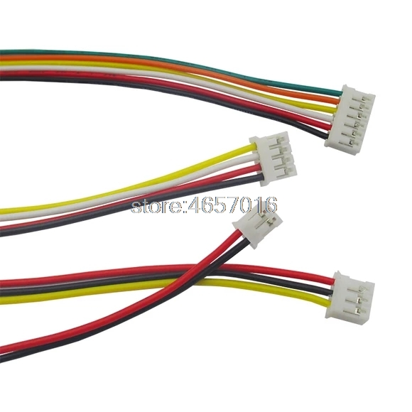 10pcs/lot Mini Micro <font><b>JST</b></font> <font><b>2.0</b></font> <font><b>PH</b></font> 2/3/4/5/6/7/8/9/10-Pin Connector Plug with Wires Cables 300MM 26AWG New S18 Drop ship image