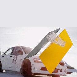 Универсальный HD УФ антибликовый Авто Защита от солнца козырек флип щит день и Ночное видение