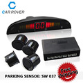 Car LED Parking Sensor Kit Display 4 Sensors 22mm 8 Colors Reverse Parking Assistance Backup Radar System SW037