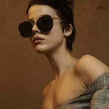 2018 Distinct Design Sunglasses Handmade High Quality Polarized Anti-Reflective Pilot Men Women Luxury