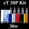 ECT оригинальный механическая коробка мод et30p комплект 30 Вт Электронной сигареты испаритель мини-туман комплект контроля потока воздуха 2200 мАч et 30 P электронных сигареты