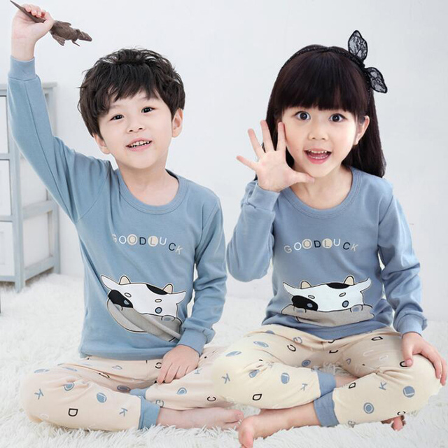 c2a96afde583 Cute Print Boys Thermal underwear Christmas Teenagers Funny Kids ...