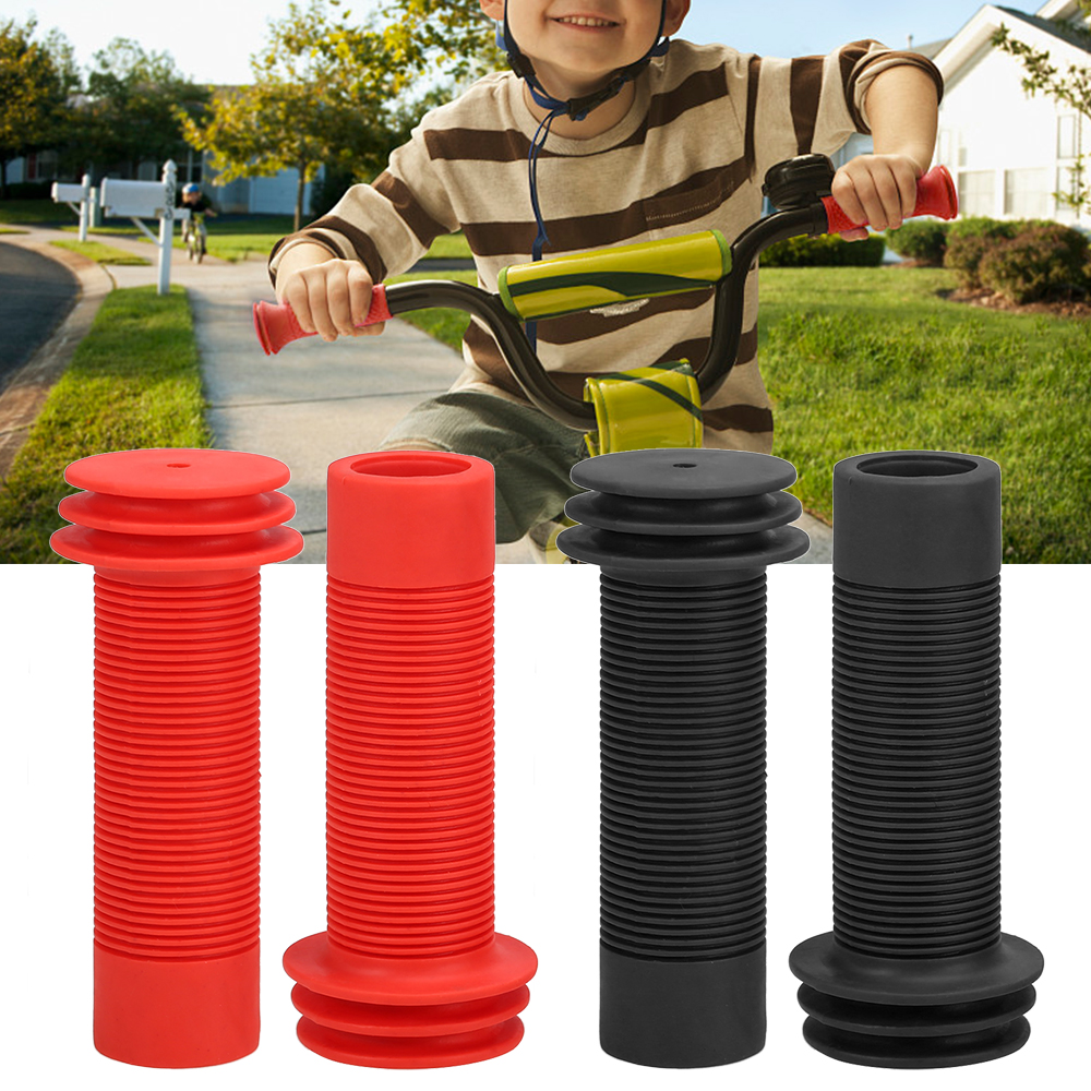 Anti-skid Kid's <font><b>Bike</b></font> Scooter <font><b>Bar</b></font> <font><b>End</b></font> Grips 2PCS <font><b>Bike</b></font> Handlebar Grips For Bicycle Handlebar Handles For Children Bicycle Parts image