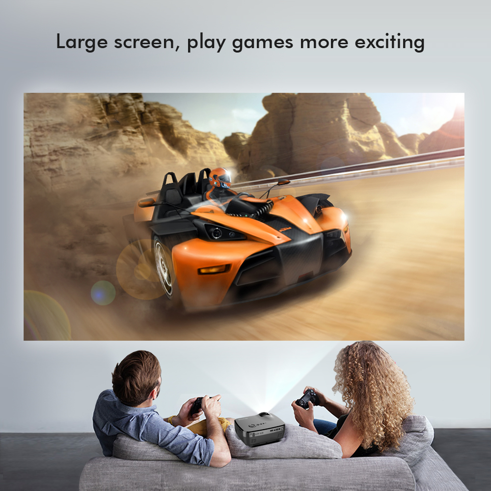 BYINTEK Brand SKY GP70 Portable Mini LED Cinema Video Digital HD Home Theater Projector Beamer Proyector with USB HDMI (1)