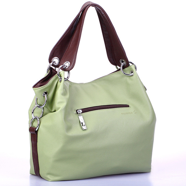 2019 Women Versatile Handbag Soft Offer  PU Leather bags Zipper messenger bag/ Splice grafting Vintage Shoulder Crossbody Bags